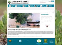 After Wildfire home page.