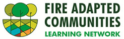 Fire Adapted Communities Learning Network logo.
