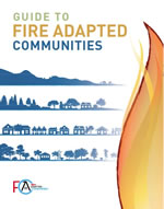 Guide to Fire Adapted Communities cover.